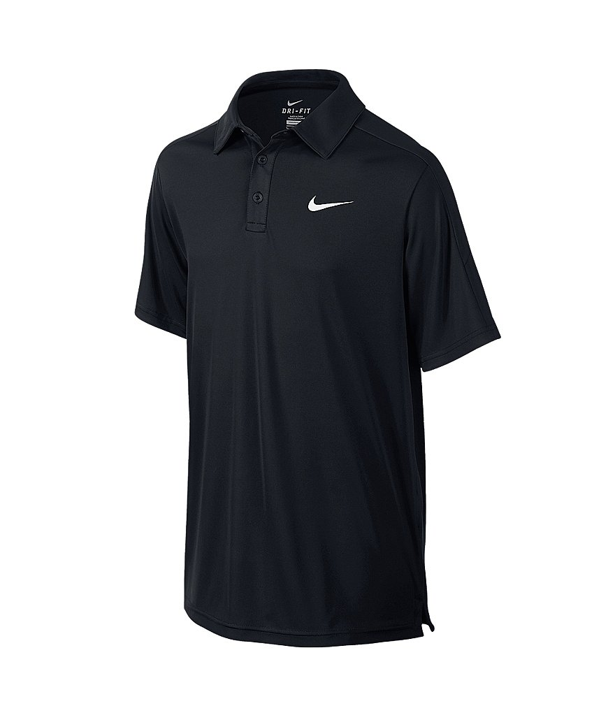Nike Big Boys 8-20 Team Court Polo Shirt