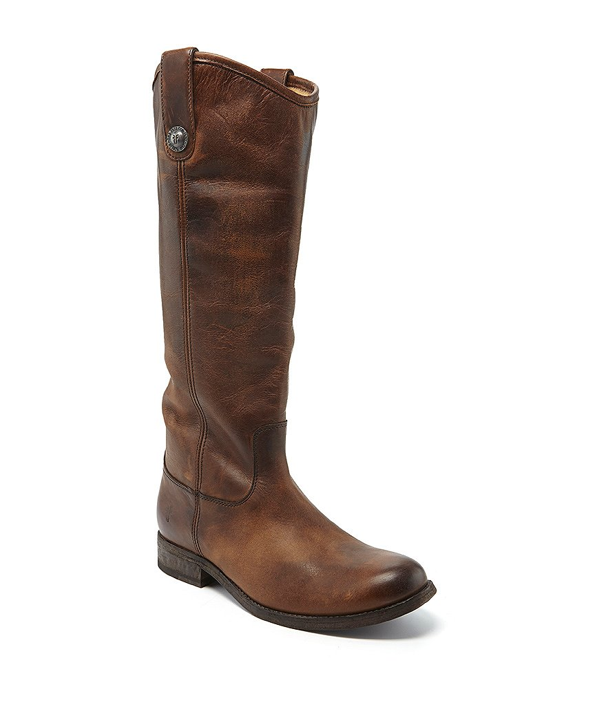 frye button boots dillards