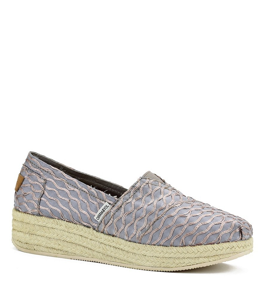 Joy & Mario Wedge Espadrilles
