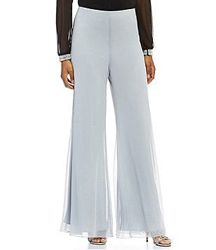 Alex Evenings Wide-Leg Pants