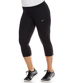 Nike Plus Dri-FIT Essential Cropped Pants Image