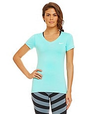 Nike Pro Short-Sleeve V-Neck Shirt