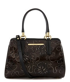 Brahmin Umbria Collection Chelsea Floral Embossed Satchel