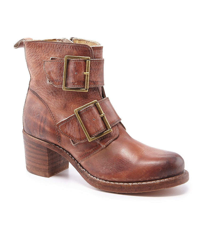 Frye Sabrina Double Buckle Boots