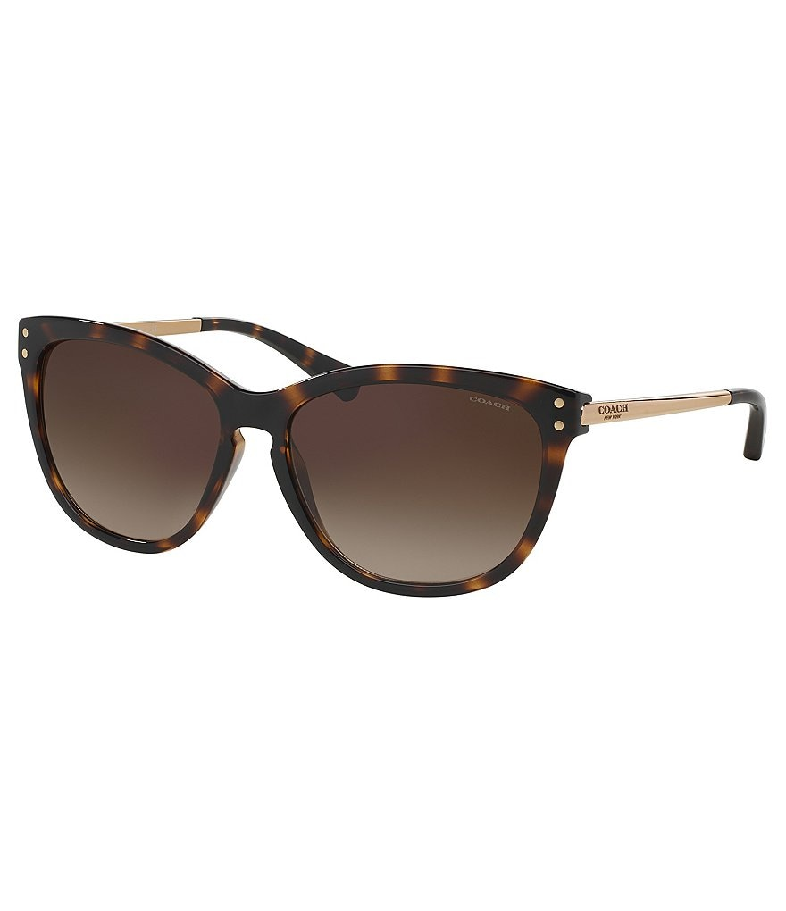 COACH CELIA GRADIENT CAT-EYE SUNGLASSES