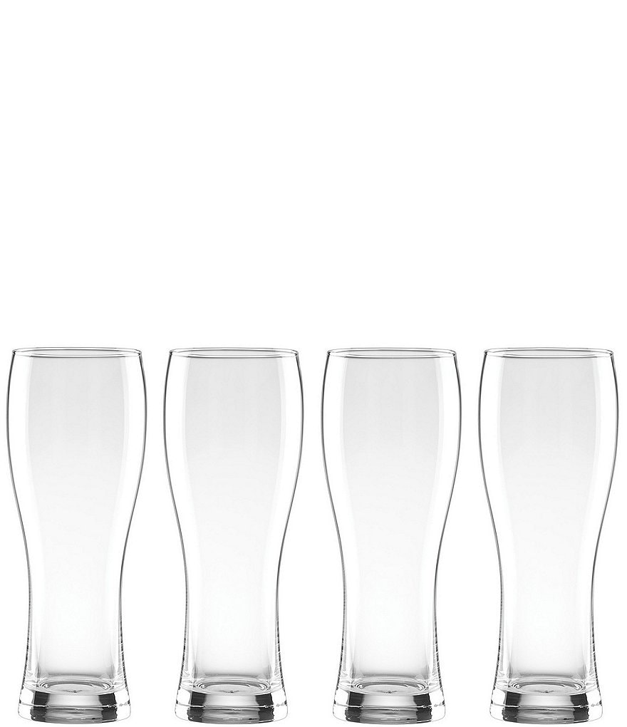 Lenox Tuscany Classics Crystal Wheat Beer Glasses, Set of 4