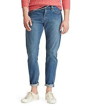 Polo Ralph Lauren Hampton Straight-Fit Stanton Wash Jeans
