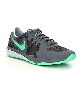 Nike Women�s Dual Fusion TR 3 Dot-Print Training Shoes Image