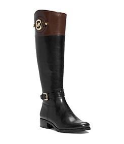 MICHAEL Michael Kors Stockard Wide Calf Riding Boots