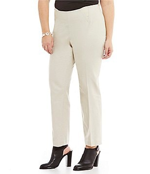 Peter Nygard Plus Leslie Pull-On Ankle Pants