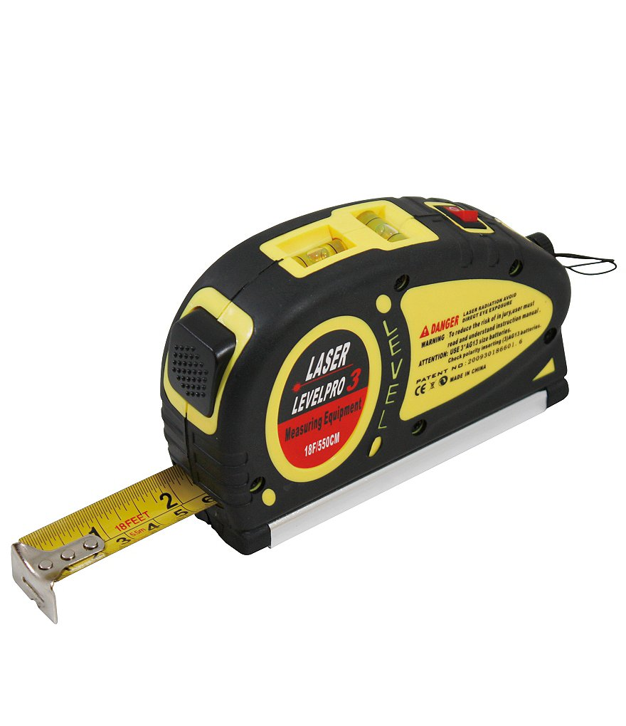 Berkshire Laser Level and Tape Measure