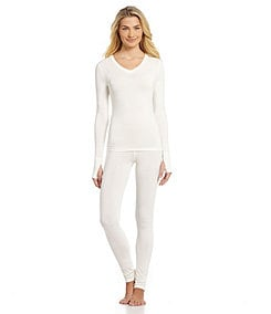 Modern Movement Warmwear V-Neck Layering Top & Pants