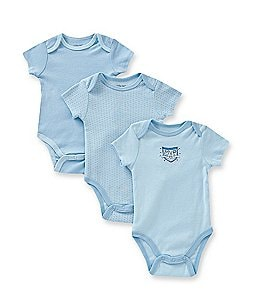 Little Me Baby Boys Newborn-9 Months MVP 3-Pack Bodysuits Image