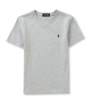 Ralph Lauren Childrenswear Big Boys 8-20 V-Neck Tee