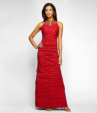 Red Evening Gowns Dillards 4