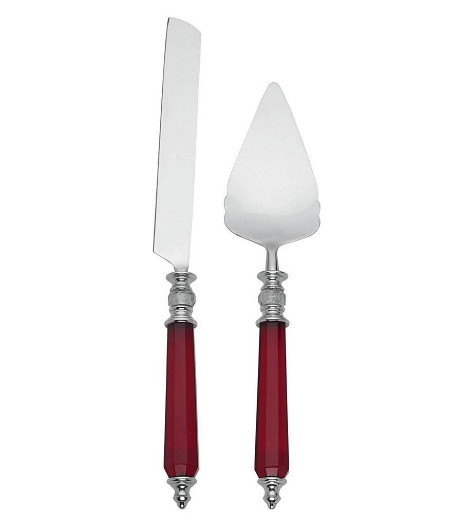 Lenox Holiday Jewel Cake Knife & Server Set