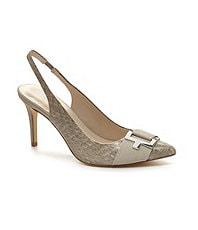 Calvin Klein Galo Slingback Pointed-Toe Pumps