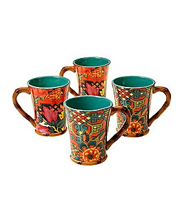 Poetic Wanderlust™ by Tracy Porter Eden Ranch Mugs, Set of 4 Image
