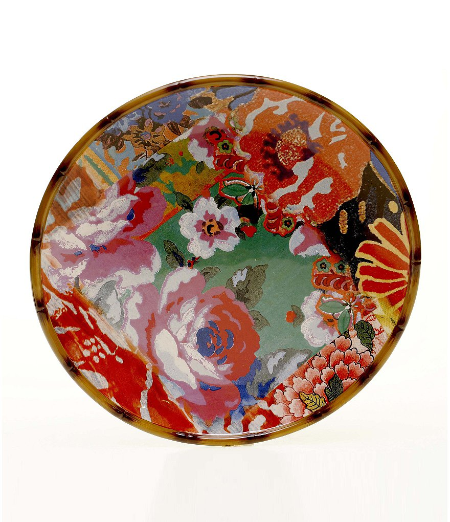 Poetic Wanderlust™ by Tracy Porter Eden Ranch Floral Round Platter