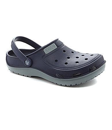 Crocs Men's Duet Wave Clogs