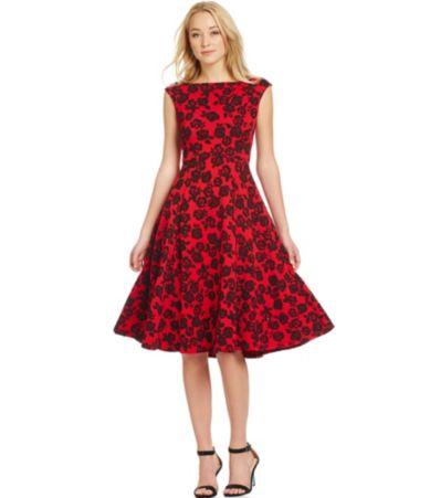 Red dress ross 0434