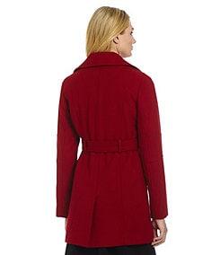 MICHAEL Michael Kors Belted Asymmetrical Coat