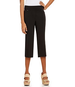 Westbound the PARK AVE Fit  Pull-On Stretch Capri Pants