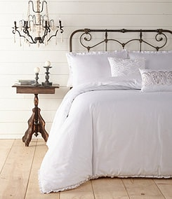 Jessica Simpson Twill Ruffle Bedding Collection