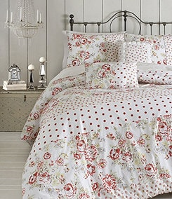 Jessica Simpson Modern Vintage Floral Bedding Collection