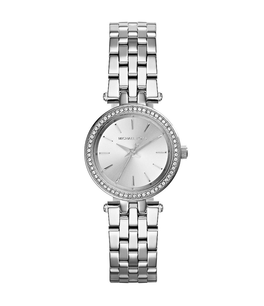 Michael Kors Stainless Steel 3 Hand Petite Darci Watch