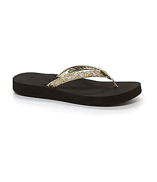 Reef Twisted Star Cushion Flip Flop Sandals