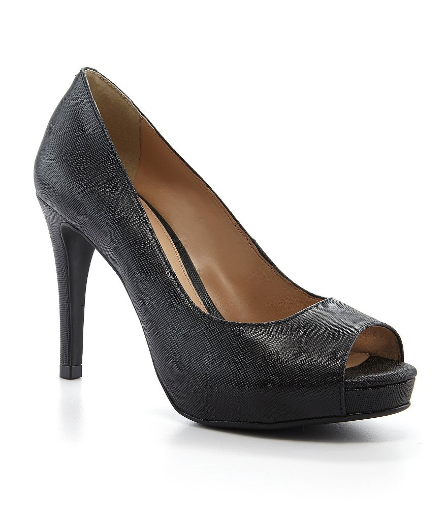 Antonio Melani Erika Peep-Toe Pumps