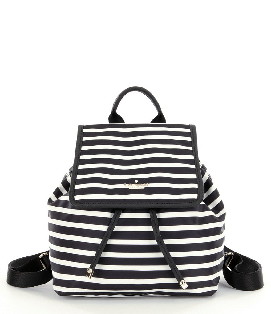 kate spade new york Classic Nylon Molly Striped Backpack