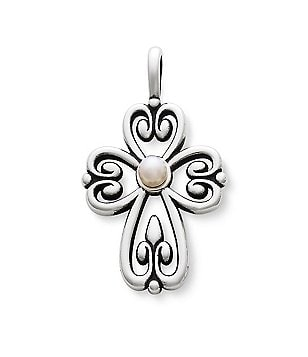 James Avery Cross of Adoration Pendant