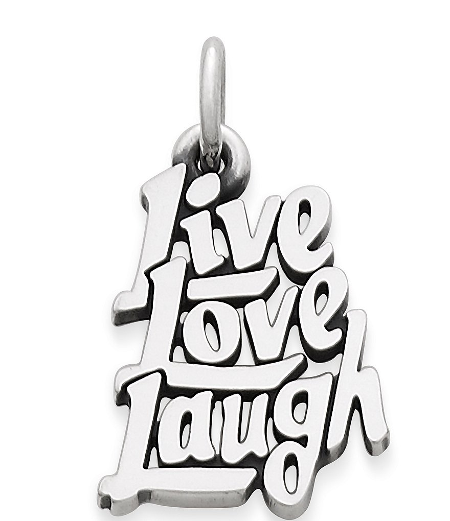 James Avery Live Laugh Love Charm