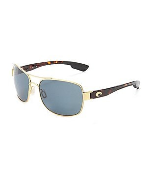 Costa Cocos Double Bridge Polarized UVA/UVB Protection Sunglasses