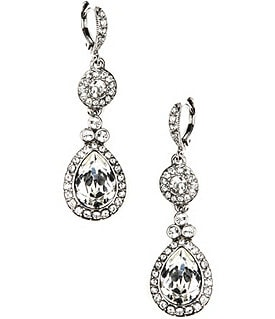 Givenchy Crystal Drop Earrings Image