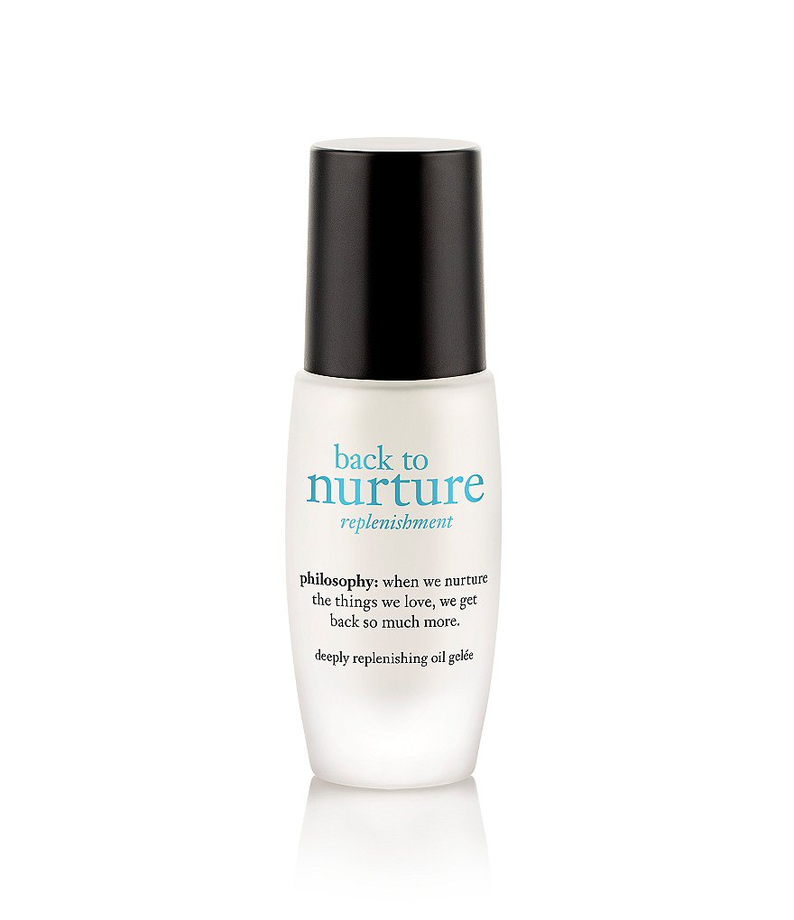 philosophy back to nurture deeply replenishing oil gelée