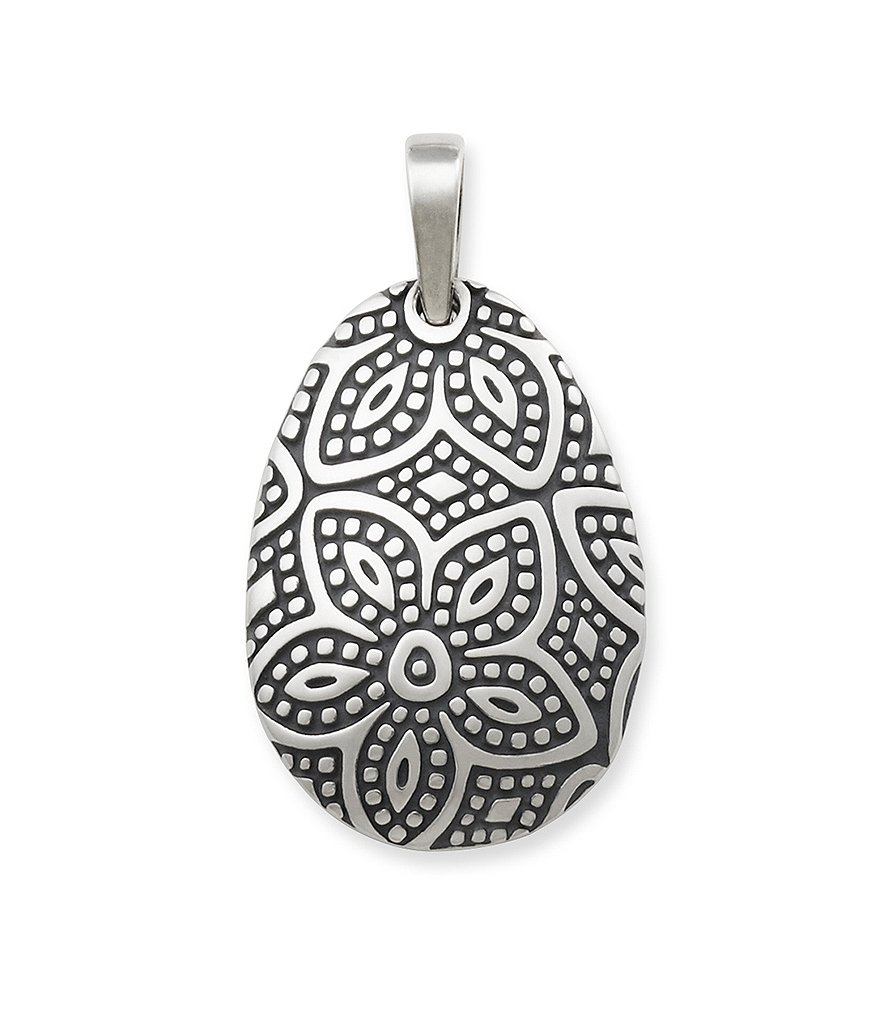 James Avery Beaded Floral Pendant