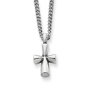 James Avery St Teresa Cross Sterling Silver Pendant Necklace