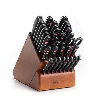 Wusthof Gourmet 36-Piece Grande Knife Set with Cherry Wood Block