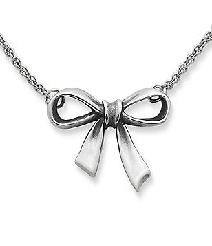 James Avery Bow Necklace