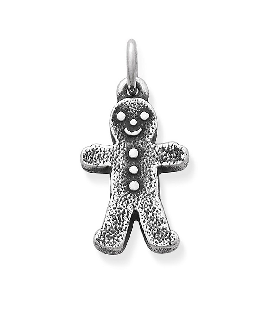 James Avery Gingerbread Boy Christmas Charm