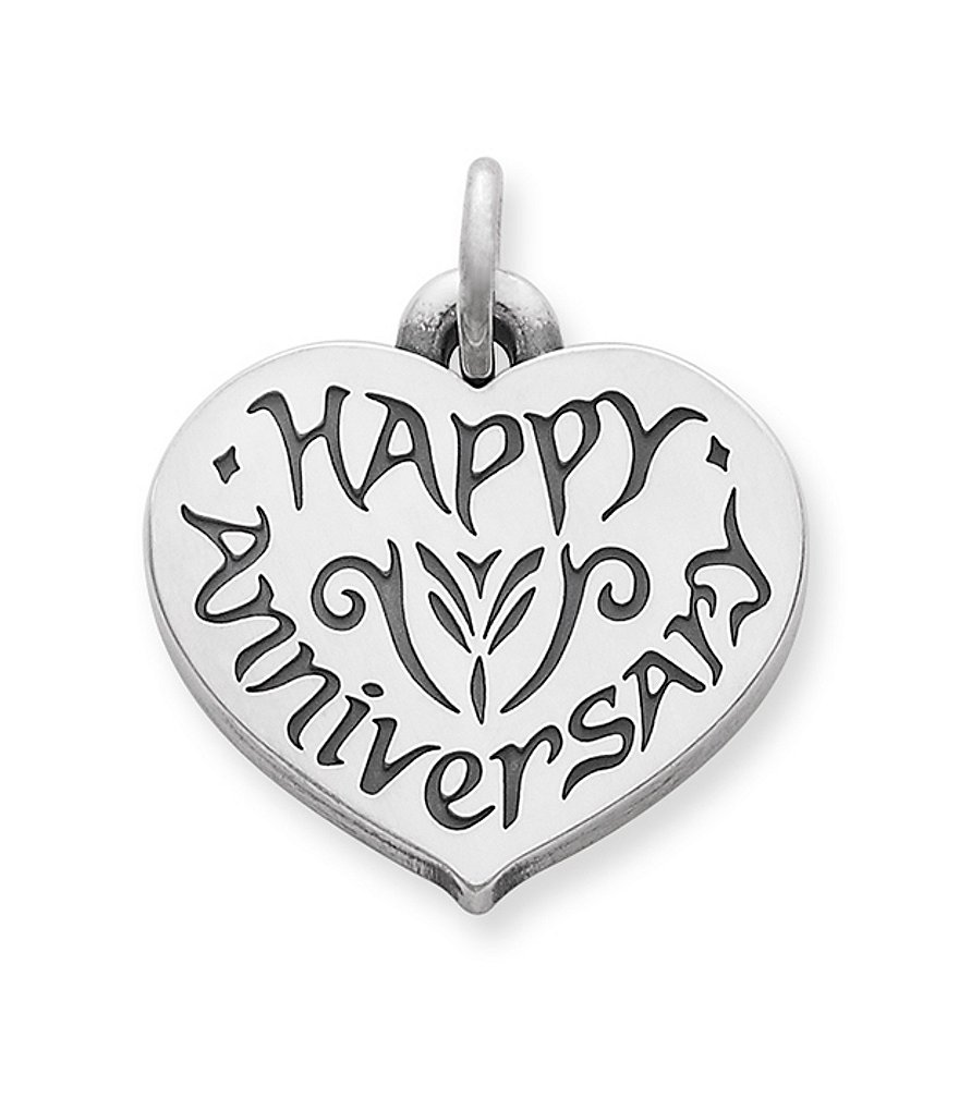 James Avery Happy Anniversary Sterling Silver Charm