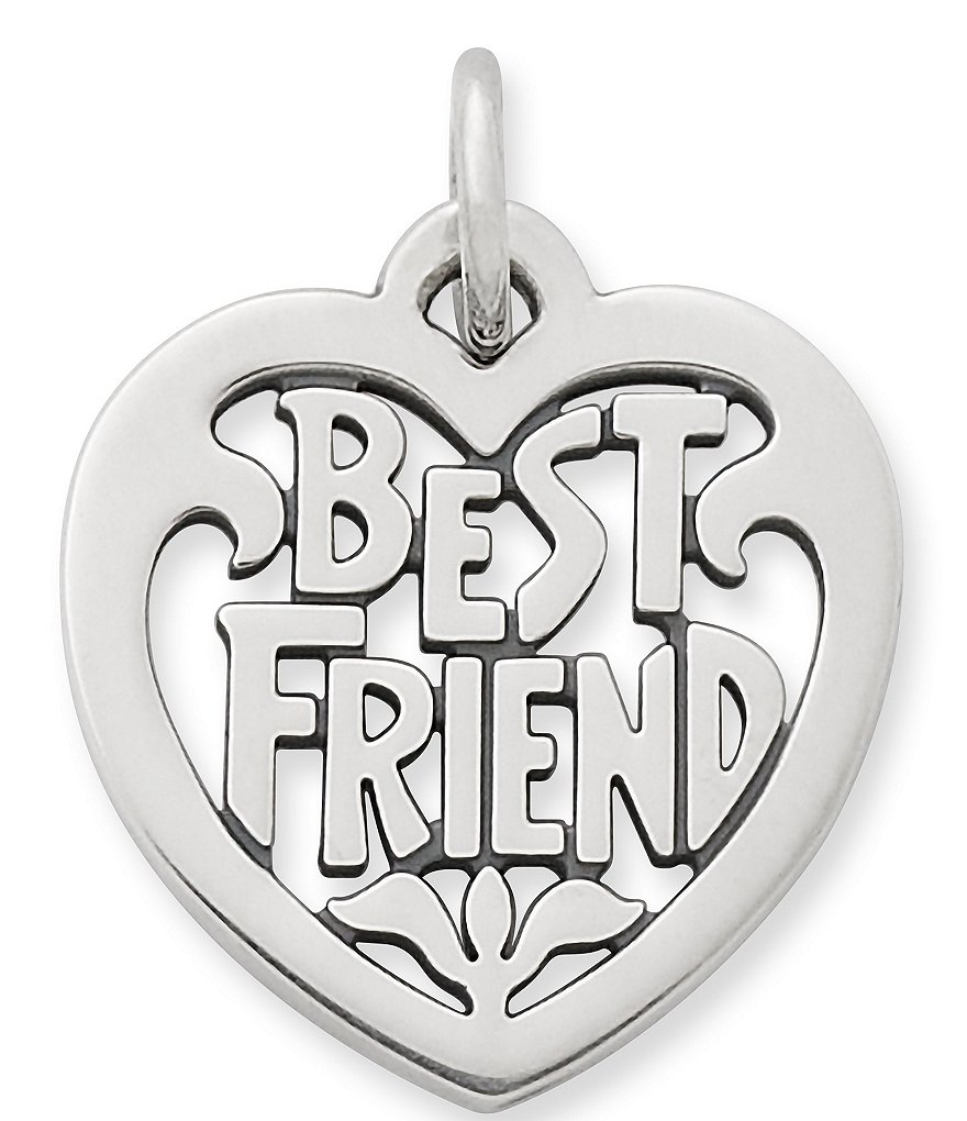 James Avery Best Friend Heart Charm