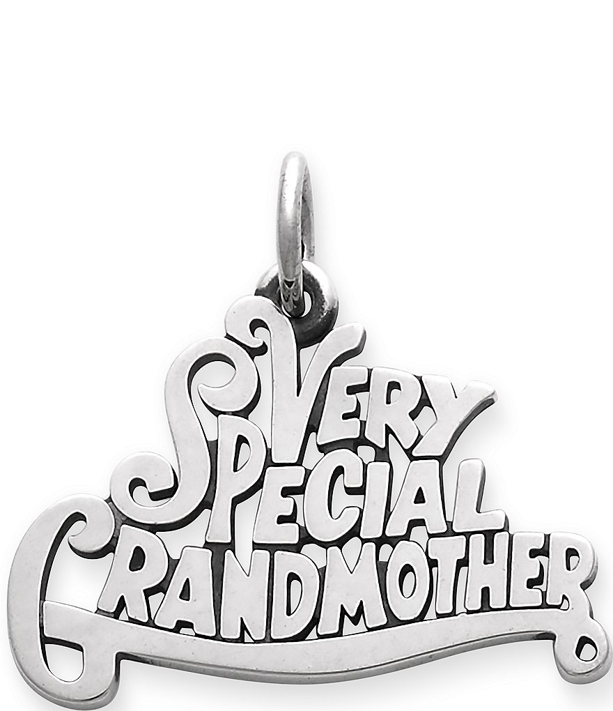 James Avery Very Special Grandmother Charm