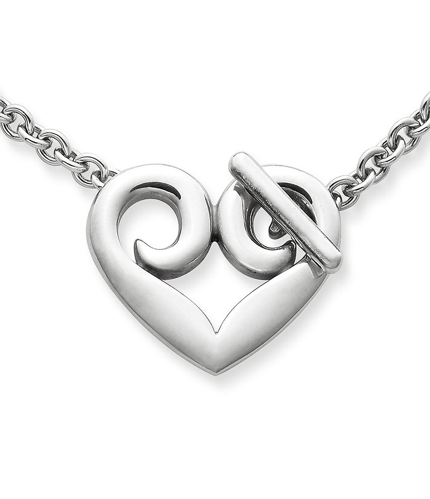 James Avery Heart Toggle Necklace