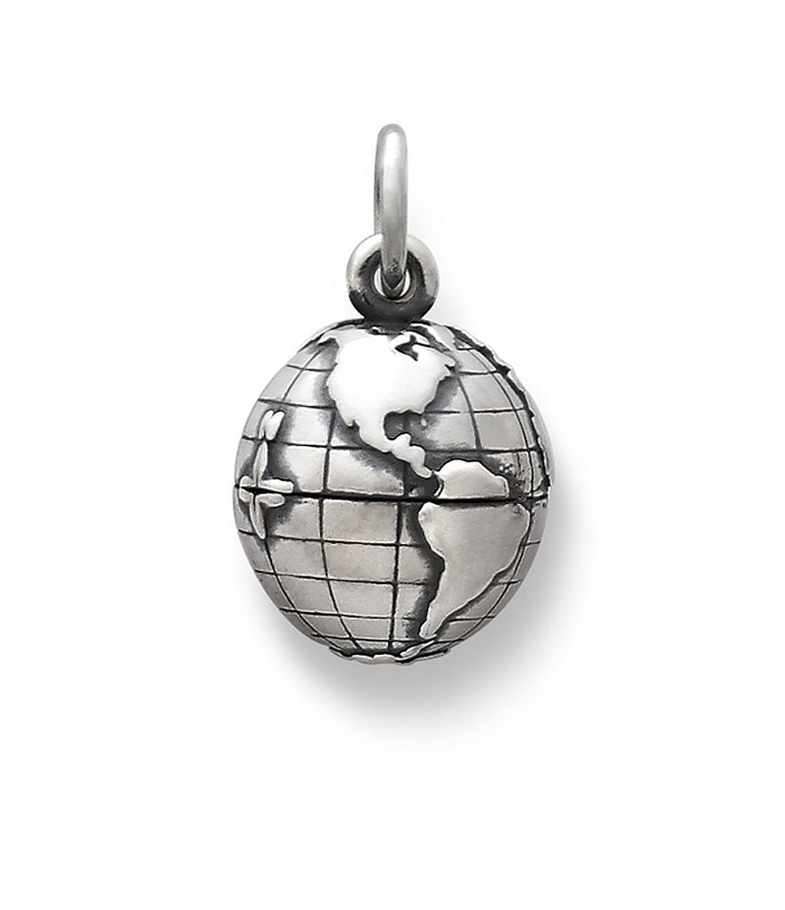 James Avery Planet Earth Sterling Silver Charm