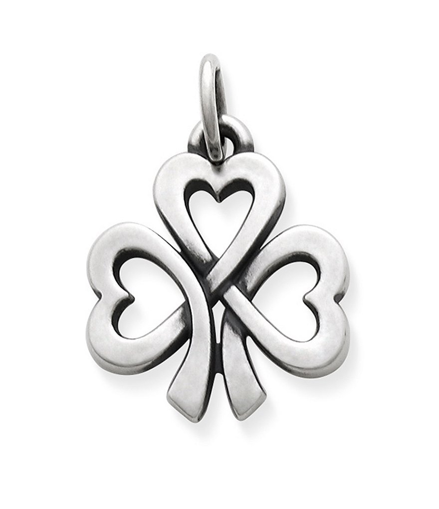 James Avery Shamrock of Hearts Charm