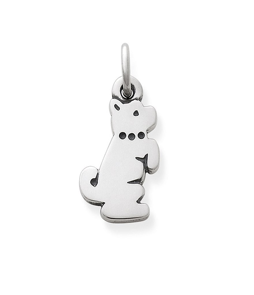 James Avery Playful Puppy Charm